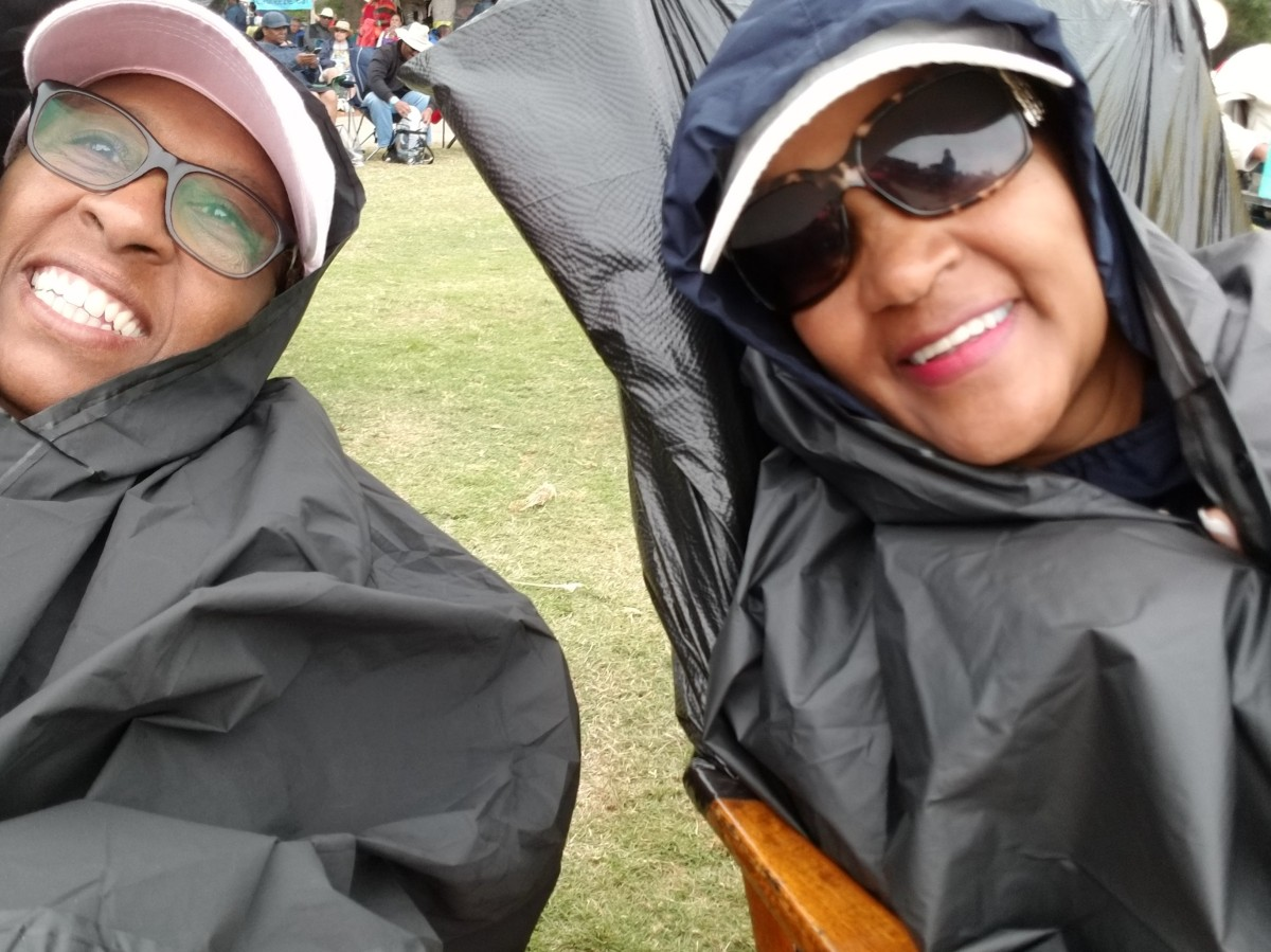 Three Trash Bags, A Rain Poncho, and a Warm Blanket…How to Survive the Seabreeze JazzFestival